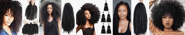 los mejores postizos de pelo afro